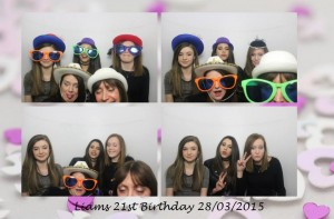 Liams 21st, 28th March