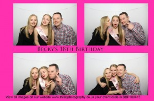 beckys 18th, 25th april