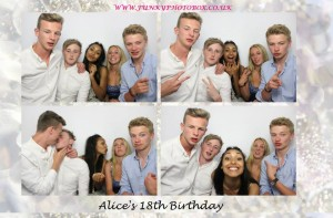 alices 18th, 8th july