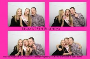 beckys 18th, 25th april