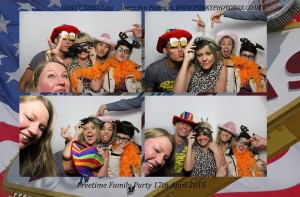 freetime family party, 17th april