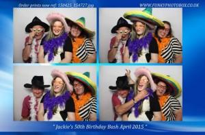 jackies 50th birthday bash, 25th april