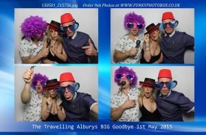 the travelling alburys big goodbye, 1st may