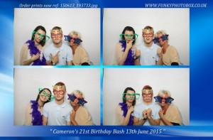 camerons 21st, 13th june