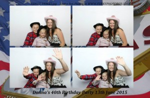 donnas 40th, 13th june