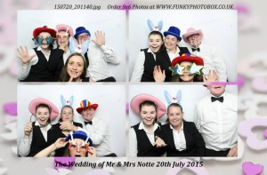 mr and mrs notte, 20th july